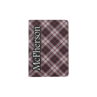 Clan McPherson Scottish Tartan Passport Holder