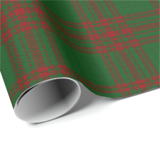 Clan Menzies Scottish Tartan Wrapping Paper
