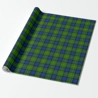 Clan Muir or More Tartan Wrapping Paper