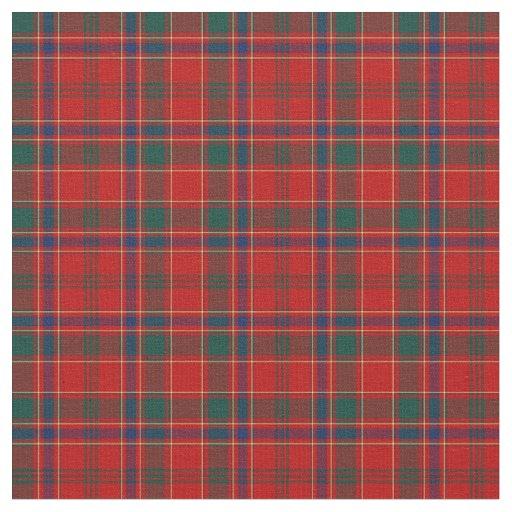 Clan Munro Tartan Fabric