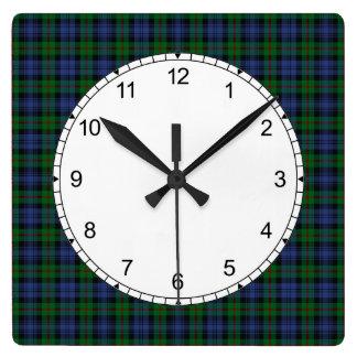 Clan Murray Tartan Wall Clock