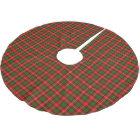 Clan Nesbitt Tartan Brushed Polyester Tree Skirt