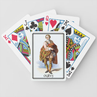 Clan Ogilvy Classic Scotland Bicycle Deck Bicycle Playing Cards
