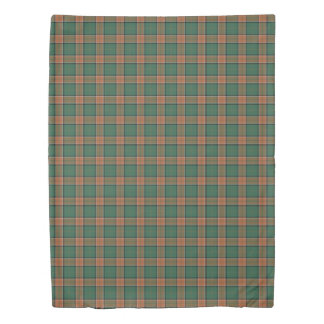 Clan Pollock Scottish Accents Tartan Duvet Cover