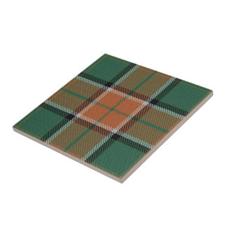 Clan Pollock Scottish Expressions Tartan Tile