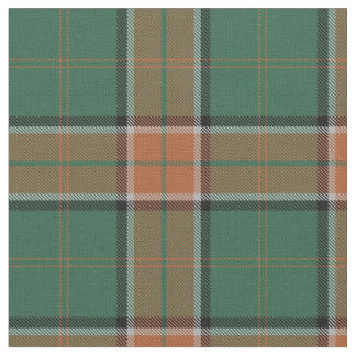 Clan Pollock Scottish Tartan Plaid Fabric