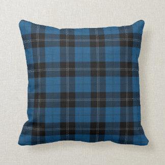 Clan Ramsay Ramsey Blue Hunting Tartan Throw Pillow