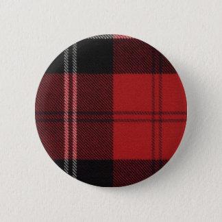 Clan Ramsay Tartan Button