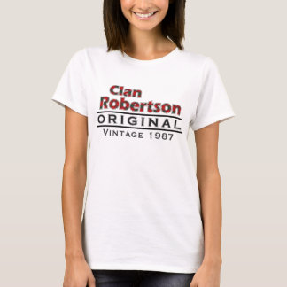 Clan Robertson Vintage Customize Your Birthyear T-Shirt