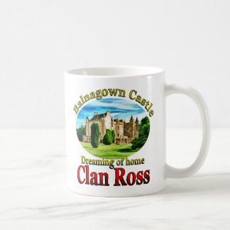 Clan Ross Dreaming of Balnagown Castle Coffee Mug