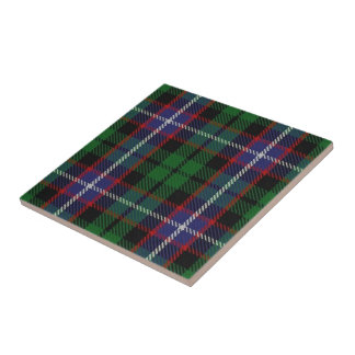 Clan Russell Scottish Expressions Tartan Tile