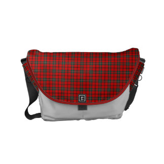 Clan Scott Red and Forest Green Scottish Tartan Commuter Bags