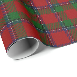 Clan Sinclair Scottish Tartan Wrapping Paper