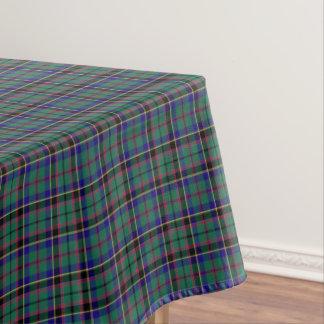 Clan Stevenson Bright Green Scottish Tartan Tablecloth