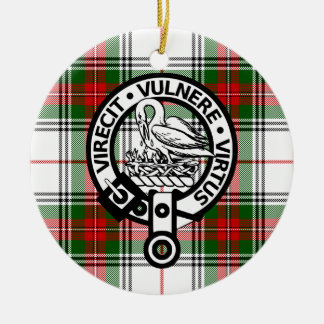 Clan Stewart Crest Badge Ornament