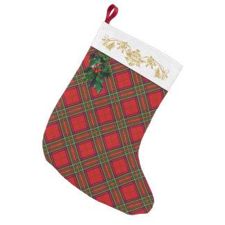 Clan Stewart Tartan Christmas Stocking