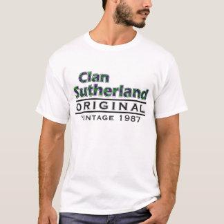 Clan Sutherland Vintage Customize Your Birthyear T-Shirt
