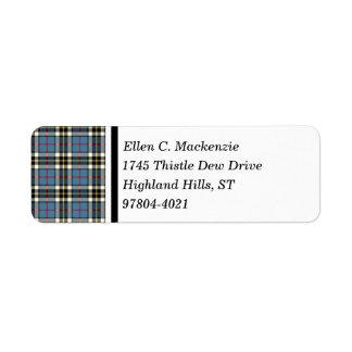 Clan Thompson Blue Dress Tartan
