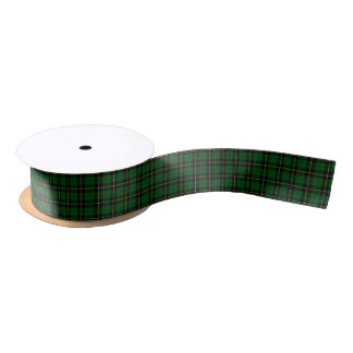 Clan Wallace Hunting Tartan Satin Ribbon
