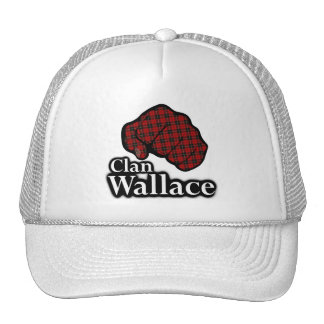 Clan Wallace Scotland Proud Tartan Fist Trucker Hat