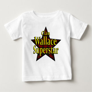 Clan Wallace Superstar Infant T-Shirt