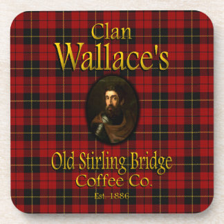 Clan Wallace's Old Stirling Bridge Coffee Co. Coaster