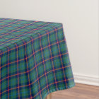 Clan Young Green and Blue Scottish Tartan Tablecloth