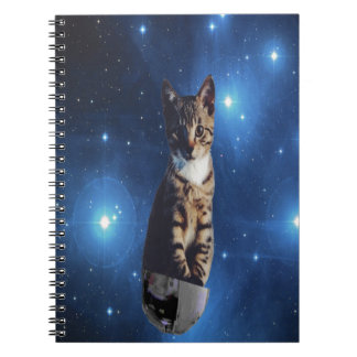 Clancy the Space Cat Note Books