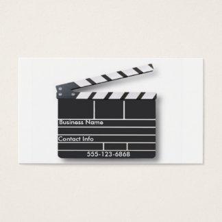Clap Board - Business Card