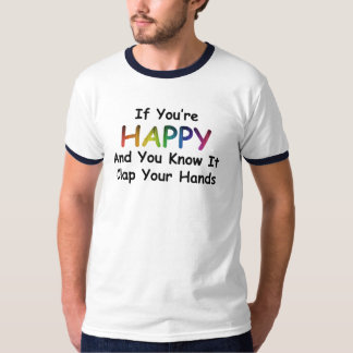 Clap Your Hands T (Nvy Blk) T-Shirt
