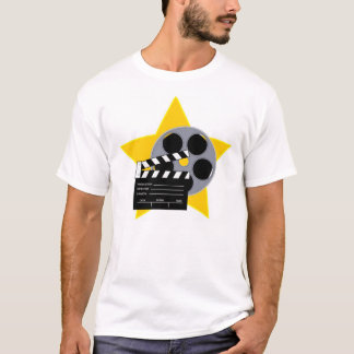 Clapboard and Reel T-Shirt