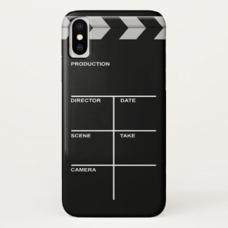 Clapboard cinema for action iPhone x case