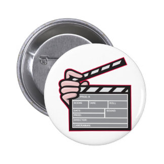 Clapboard Clapperboard Clapper Front Pin