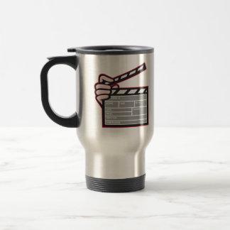 Clapboard Clapperboard Clapper Front Mugs