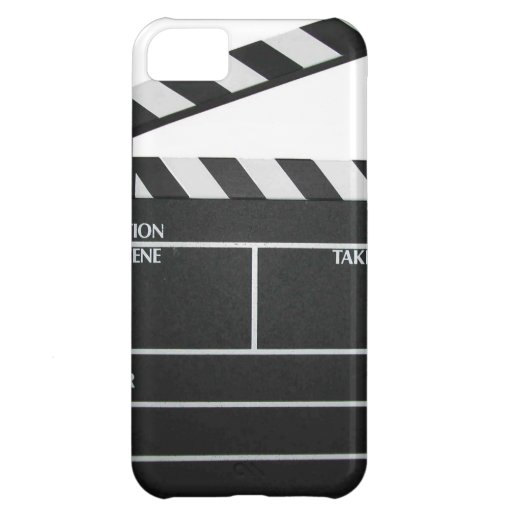 Clapboard movie slate clapper film cover for iPhone 5C
