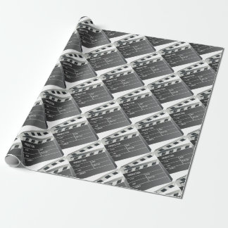 Clapper-Board Film Movie Motion Picture Wrapping Paper