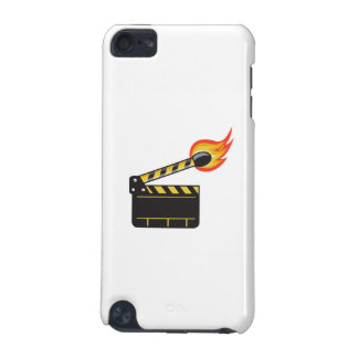 Clapper Board Match Stick On Fire Retro iPod Touch 5G Covers