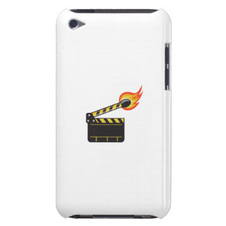 Clapper Board Match Stick On Fire Retro iPod Touch Covers