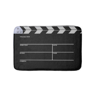 Clapperboard Cinema Bath Mat