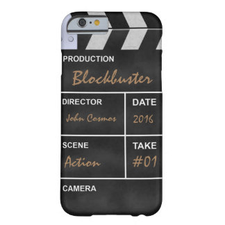 "Clapperboard cinema ""Blockbuster"" Barely There iPhone 6 Case"