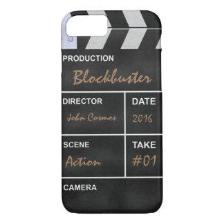 "Clapperboard cinema ""Blockbuster"" iPhone 7 Case"