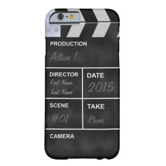 clapperboard cinema barely there iPhone 6 case
