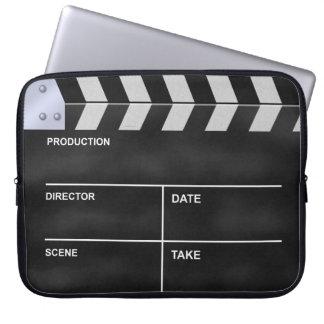 Clapperboard cinema computer sleeves