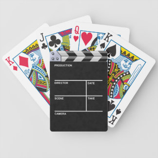 clapperboard cinema deck of cards