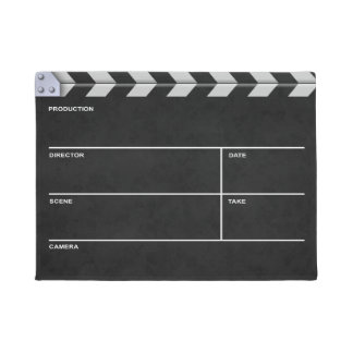 Clapperboard Cinema Doormat