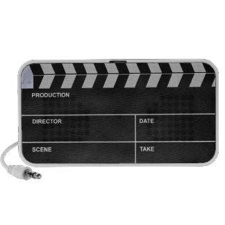 clapperboard cinema iPod speakers