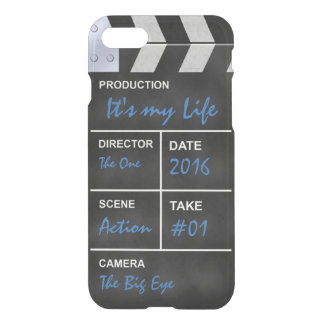 "Clapperboard cinema ""It's my Life"" iPhone 7 Case"
