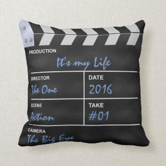 "Clapperboard cinema ""It's my Life"" Pillows"