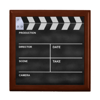 Clapperboard cinema keepsake boxes
