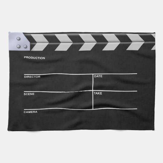 Clapperboard Cinema Kitchen Towel